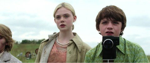 Elle Fanning and Joel Courtney star in J.J. Abram's <em>Super 8</em>.