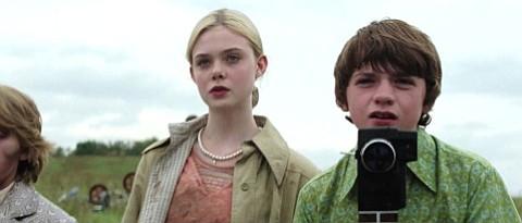 Elle Fanning and Joel Courtney star in J.J. Abram's <em>Super 8</em>.