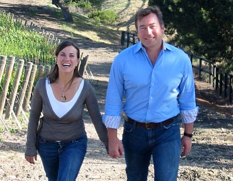 Chrystal and Steve Clifton from Palmina Wines.
