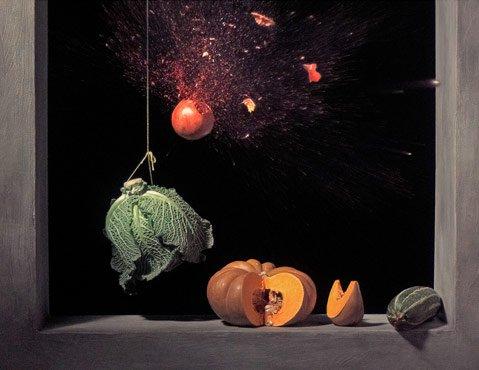 Ori Gersht, Pomegranate, 2006.