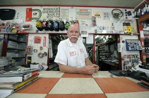 Phil Unander, owner of Larry's Auto Parts (June 13, 2011)