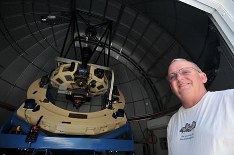 Wayne Rosing at Las Cumbres Observatory Global Telescope Network.