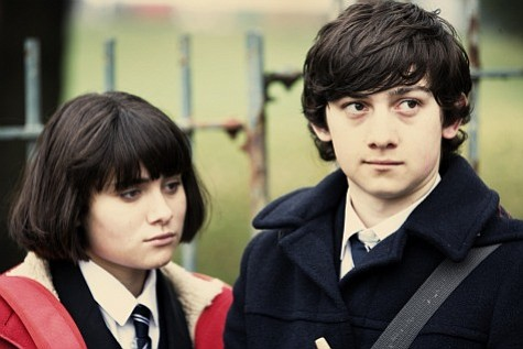 Yasmin Paige (left) and Craig Roberts (right) star in Richard Ayoade's <em>Submarine</em>.