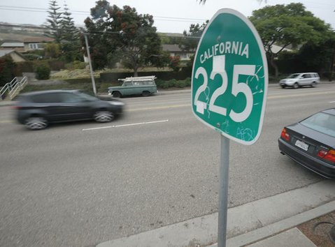 Highway 225 aka Cliff Drive is four lanes of state-owned road that the City of Santa Barbara would l