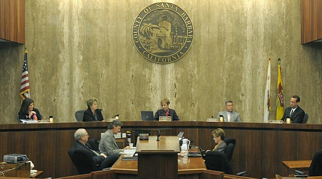 <strong>FINAL BLOW:</strong>  The Board of Supervisors didn't have much wiggle room in coming out with their $844-million budget. They had to close a $72-million deficit, meaning departments like that of Sheriff Bill Brown face serious reductions in service levels.