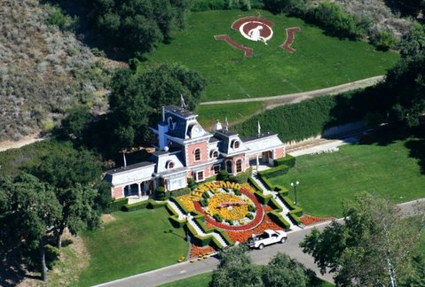 Neverland Ranch train station