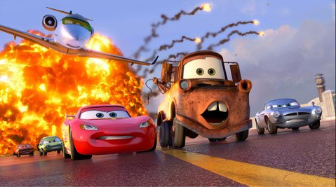 <strong>RUN FOR THE MONEY:</strong>  Despite a surprisingly endearing subplot involving Mater the tow truck (voiced by Larry the Cable Guy), <em>Cars 2</em> will likely place last for Pixar purists.