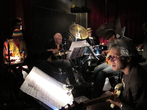 Marc Ribot's Caged Funk