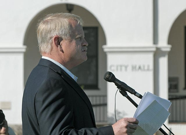 Randy Rowse declares his candidacy for the Santa Barbara City Council June 23, 2011