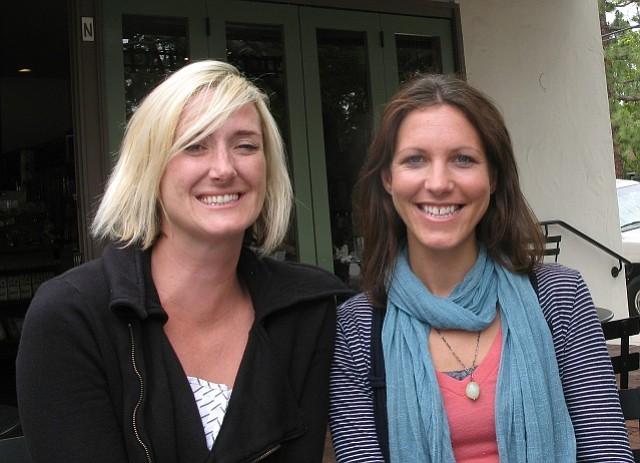 Caroline Connor and Eve Sommer-Belin