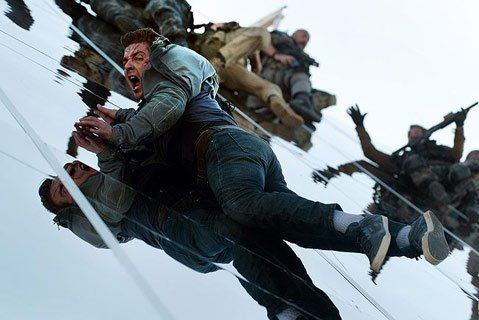 <strong>TAKE THE MONEY AND RUN:</strong>  Shia LaBeouf shouts and sprints his way through Michael Bay's special-effects–laden, soulless blockbuster <em>Transformers: Dark of the Moon</em>.