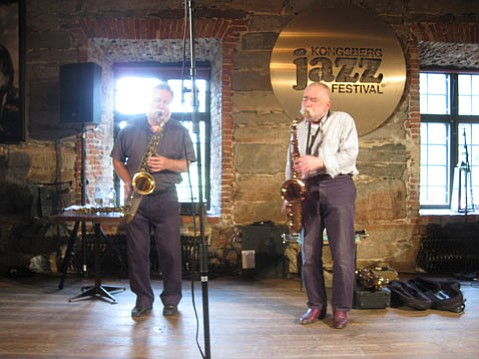 Evan Parker and Peter Brötzmann