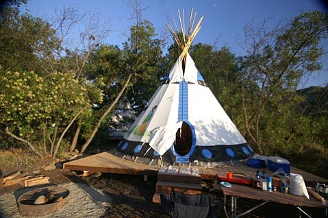 Spend some time under the stars, in the creek, and on the zip line at Ventura Ranch KOA.