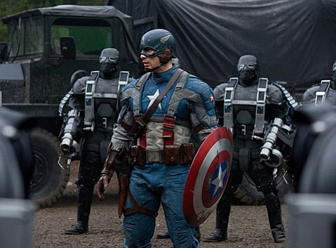 <strong>O CAPTAIN! MY CAPTAIN!</strong>  Chris Evans does his star-spangled role justice (and effectively sets up a segue to next summer's The Avengers) in <em>Captain America: The First Avenger</em>.