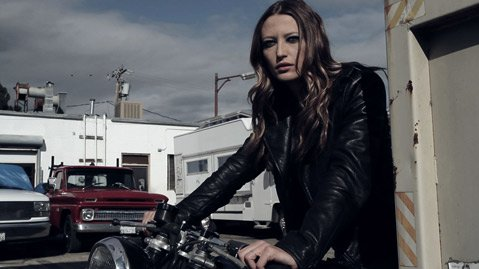 Canadian supermodel and actress Noot Seear stars in <em>Burial</em>.