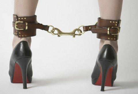Ilya Fleet Studded ankle cuffs