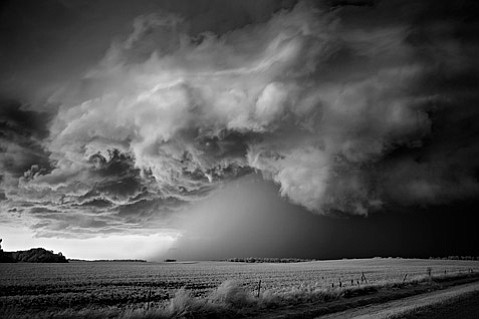 """Storm Over Field,"" by Mitch Dobrowner"