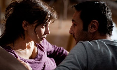 Gilles Lellouche and Raschdy Zem star in <em>Point Blank</em>.