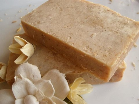 Santa Barbara's Lisa Franklin brews up natural soaps and lotions using local ingredients.