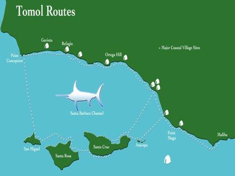 Tomol Route