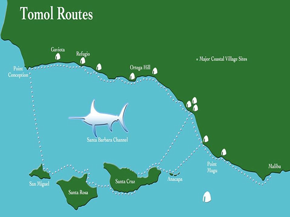 Tomol Route