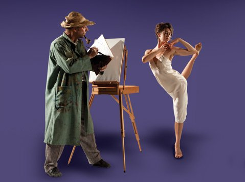 State Street ballet presents William Soleau's multi-media production about the life of Vincent van Gogh.