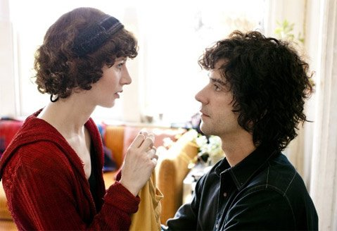 Miranda July and Hamish Linklater play a troubled couple in the surreal, weirdly brilliant head-tripper <em>The Future</em>.