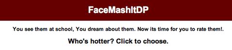 FaceMashItDP online banner