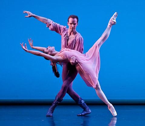 NY City Ballet MOVES at the Granada Theatre.