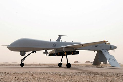 A predator drone (General Atomics MQ-1B)