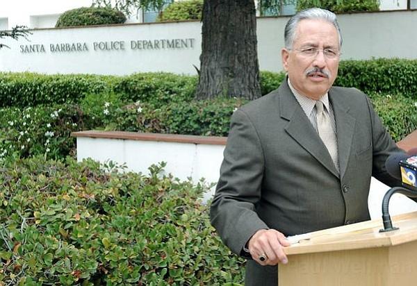 Santa Barbara Police Chief Cam Sanchez