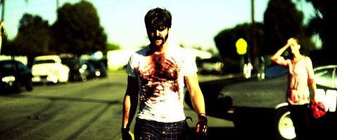Ventura-based filmmaker Evan Glodell (above) writes, directs, and stars in the low-budget, high-action apocalypse flick <em>Bellflower</em>.
