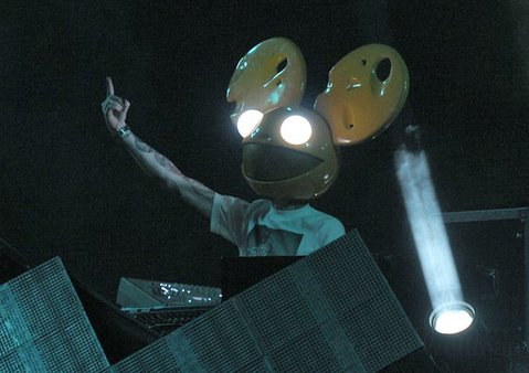 Deadmau5 at the Santa Barbara Bowl Oct. 27, 2011