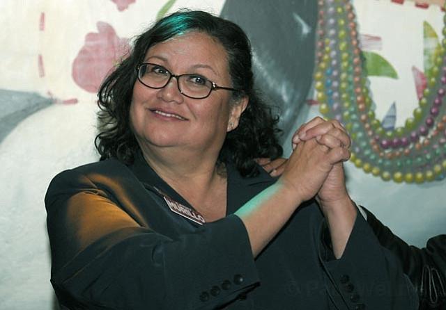 Cathy Murillo at Tony Rays Nov. 8, 2011