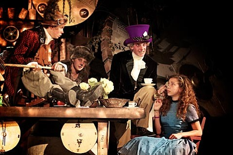 S.B. High School's colorful student production <em>Alice in Wonderland</em> closes this week.