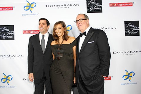 Founder and CEO of Dream Foundation Thomas Rollerson, honoree Donna Karan & president and chief merchandising officer Ronald L. Frasch