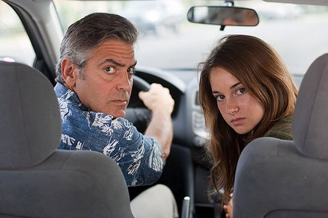 George Clooney and Shailene Woodley star in <em>The Descendants</em>.