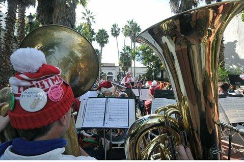 Tuba Christmas 2010