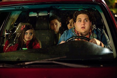 Humor takes a backseat to Hollywood tropes in the Jonah Hill vehicle <em>The Sitter</em>.