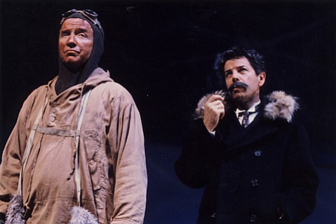 <em>Terra Nova</em>, 1999 (Rich Hoag on left, Tony Miratti on right)