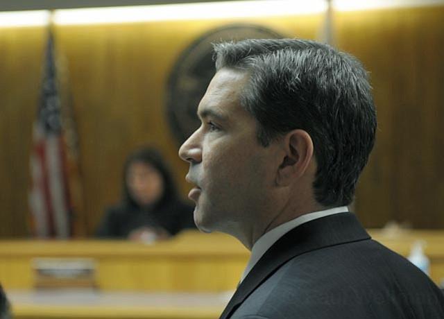 Deputy D.A. Brian Cota in court Dec. 29, 2011