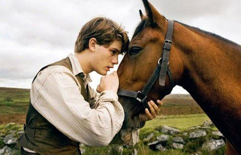 A young man (Jeremy Irvine) enlists during World War I after his horse is sold to the cavalry in Steven Spielberg's sometimes-cloying, but ultimately rewarding equine epic War Horse.