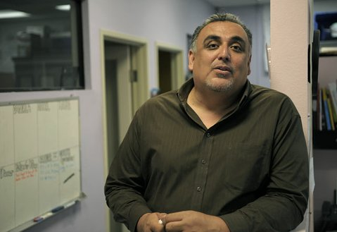 <strong>LET GO:</strong>  Mark Alvarado raised PUEBLO's profile in the community, but he didn't raise enough money to keep the grassroots organization financially afloat. Last week, he got the ax—after moving to Santa Barbara from El Paso—and PUEBLO volunteers will be expected to pick up the slack on the South Coast.