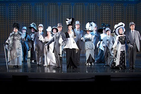 The cast of <em>My Fair Lady</em>.