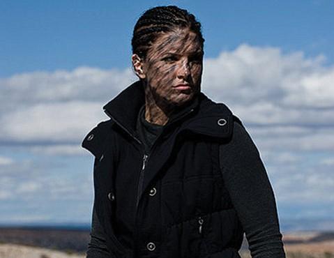 Gina Carano stars as a kick-ass covert-ops specialist gone rogue in Steven Soderbergh's <em>Haywire</em>.