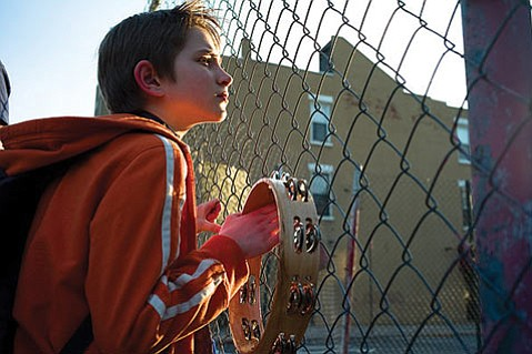 Thomas Horn plays the idiosyncratic son of a 9/11 causality in <em>Extremely Loud and Incredibly Close</em>.