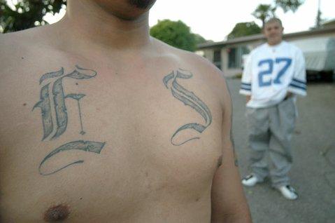 Anonymous Eastside gangmembers