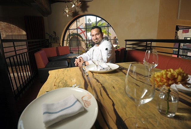 Chef Ramon Velazquez of Cielito.