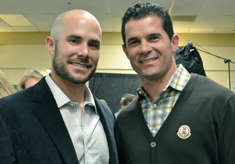 Skip Schumaker and Michael Young