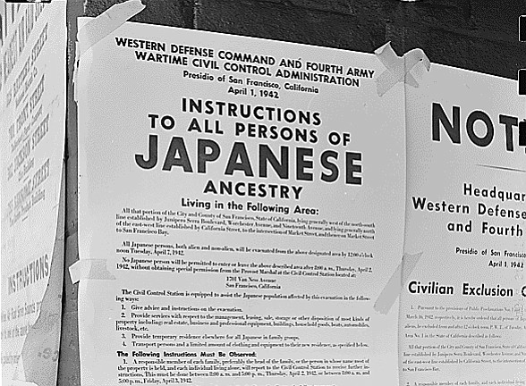Japanese American Exclusion Order